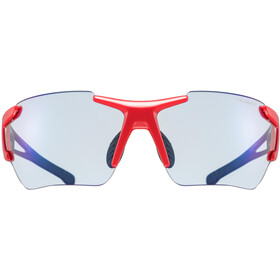 UVEX Sportstyle 803 Race VM Gafas deportivas, black/red/blue